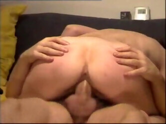 Amateur mom gets a real orgasm by riding on a big cock