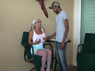 Mature MILF loves hot YOUNG COCK and cant get enough Sally Dangelo #milf #interracial #bigboobs #bigcock #BBC