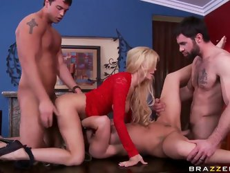 Hot couples of beautiful guys Charles Dera, Rocco Reed, Tasha Reign and Tyler Faith are switching their partners for this night, fucking each others f