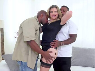 Cory Chase is truly in her element when two black lovers take the reins