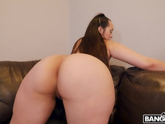 Chubby mature Alycia Starr drops her panties to be fucked + cum in mouth