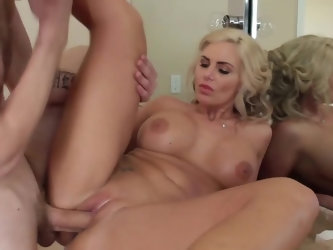Phoenix Marie is a total MILF goddess and she loves younger dudes. Curvy woman calls up her favorite new jack Danny D for some anal drilling and that