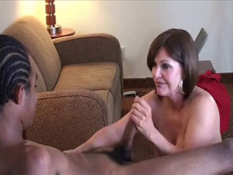 mature white bitch enjoying young nigga fuck part1