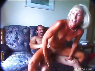 Tanlined Ann Needs A Cock In Her Pussy
