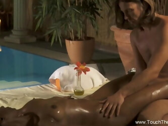 Intimate Anal Massage Of Couple With A Relaxing Moment