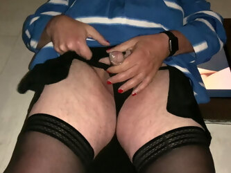 Playing with my little clitty
