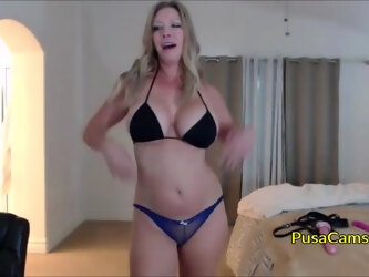 beautiful and hot as fuck is live now and she plays with her big tits and shaved pussy