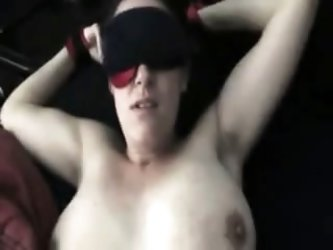Bound MILF Fucked to Orgasm