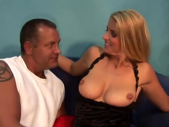 Juicy Dutch MILF squirting during a job interview