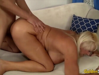Golden Slut - Older Women Pummeled From Behind Compilation