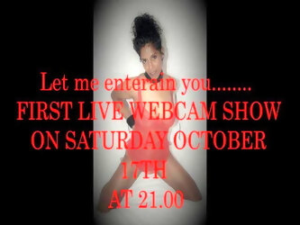 My First Live Webcam Show Comming Up!
