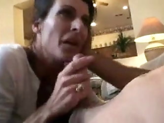 Son Creampies His Horny Mom