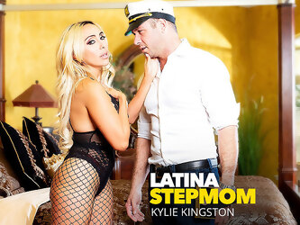 Latina Stepmom Kylie Kingston Fucks Her Stepson - NaughtyAmerica
