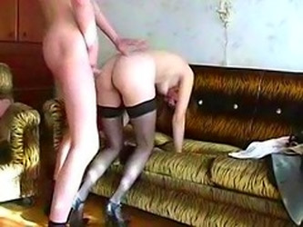 Russian Mature With Young Boy
