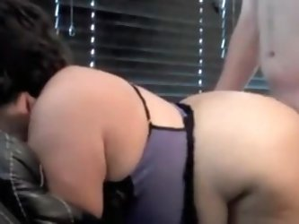Screwing my busty and plump wife up her pussy in doggy style position on this home made private clip. This is one of our many videos that you can find