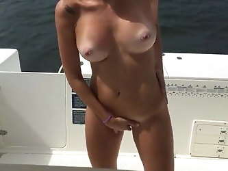 Nice Slut Suck and Fuck on The Boat