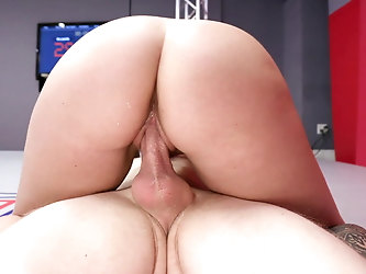 Cum in pussy creampie compilation from Evolved Fights