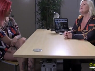 Tammy Claire Comes For An Interview With Lacey Starr