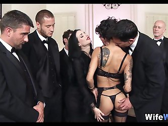 Upscale Sex Party Orgy with Wives