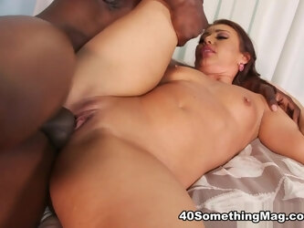 Honey White gets big black cock - Honey White and Jax Black - 40SomethingMag