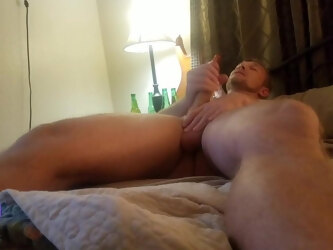 Horny Step Son Cums Next To Mom In Bed