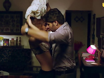 Indian Actress Aparna Sharma Intimate Scene with her worker