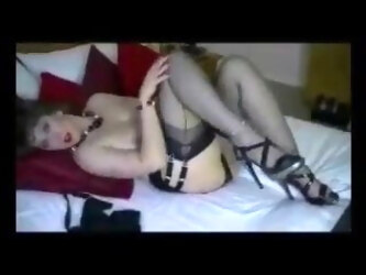 Julie stocking babe Julie compilation