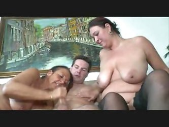 german gerda in a another 3some
