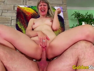 Golden Slut - Horny Older Cowgirls Compilation Part 17