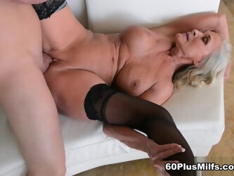 60plus Realtor Katia Fucks 23-Year-Old Client - Katia And Peter Green - 60PlusMilfs