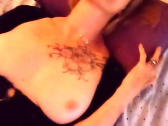 Slutty Gilf  Trish wants a Dick in her Throat, Cunt, and Ass