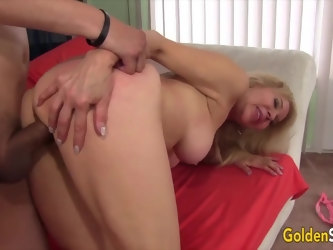 Golden Slut - Stunning Mature Blondes Getting Drilled Compilation Part 6