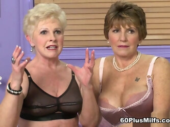 Just A Couple Of Classy 60something Sluts - Bea Cummins And Jewel - 60PlusMilfs