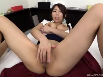 Hot ass Japanese MILF Shinoda Ayumi gives head and rides in reverse
