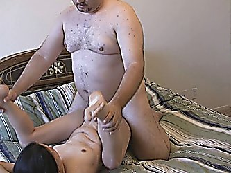 Teen Chick Fucked By Fatty