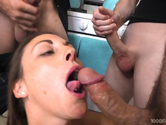 Sexy MILF loves bending over a lot and that prick tease gives the best blowjobs