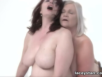 Double Trouble For Monster Cock - GrannyLovesBlack