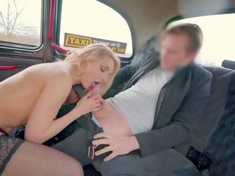 Sexy tourist Caty Kiss works out payment plan for expensive cab fare