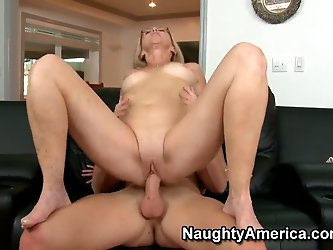 Annabelle Brady loves to bang with young boys and today she has a great opportunity to fuck with her son's best friend, Michael. Moreover, he has