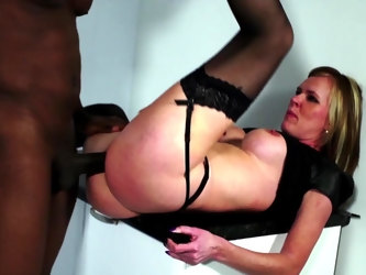 Sweet mature enjoys the black dick more that enough