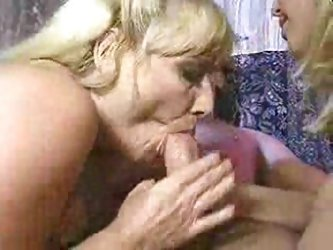 Mother and daughter sharing lover
