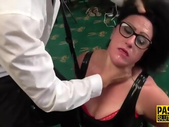 Pascal White in Chubby Submissive Throats And Gets Fucked