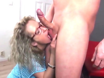 German  MILF Jana Diskret fucked by younger guy