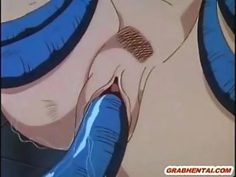 Hot hentai mom with massive tits gets fucked by a tentacle monster