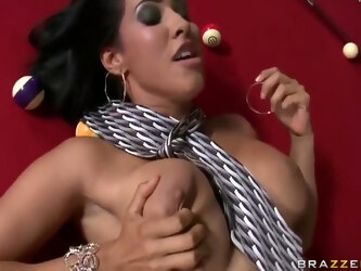 Isis Love Fucked On Pool Table