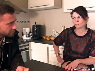 CLARISSE CURVY FRENCH MILF FIRST DATE (ANOTHER VIDEO)