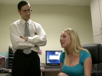 John Henry and Shawna Lenee have been working together for several years, and consider each other brother and sister until the moment they fuck each o