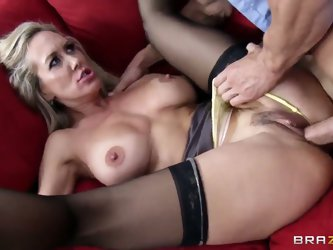 Brandi Love is one horny milf who loves to take her doctors' cock! Johnny Sins is the perfect doctor for her horny pussy. He fucks her like crazy