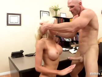 Get a glimpse of hot momma Holly's big naturals, as she pleases Johnny after she's been divorces and looking for someone new to fuck!