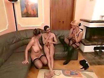 Amateur Mature Threesome Sex